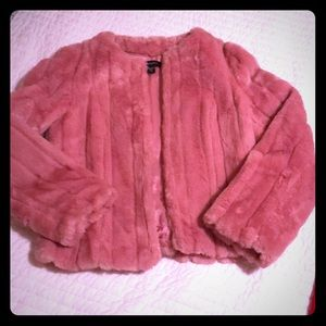 Such a cute pink jacket!